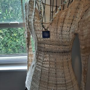 Light weight cover up sweater